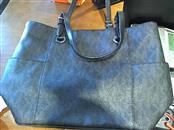 MICHAEL KORS Handbag BLACK MONOGRAM TOTE